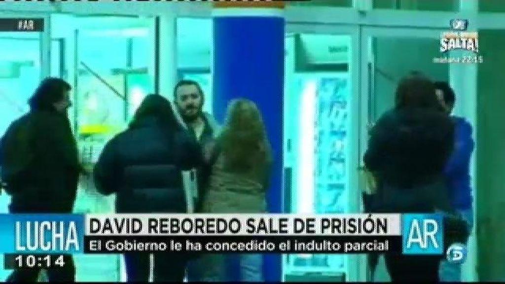 David Reboredo sale de prisión