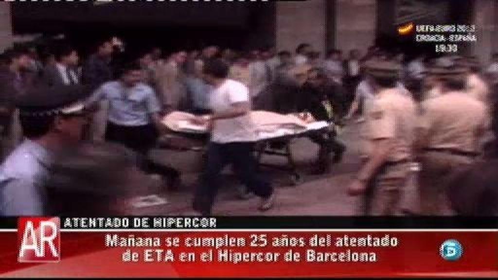 Mañana se cumplen 25 años del atentado de Hipercor