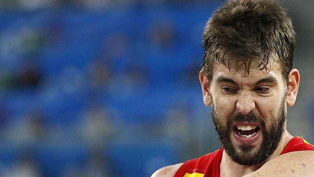 Marc rescata a España en el tercer cuarto