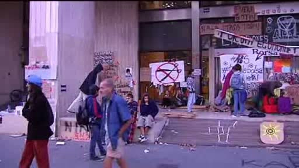Desalojada la Bolsa de Barcelona