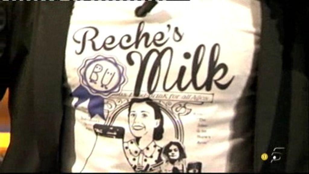 La camiseta de 'Reche's milk'