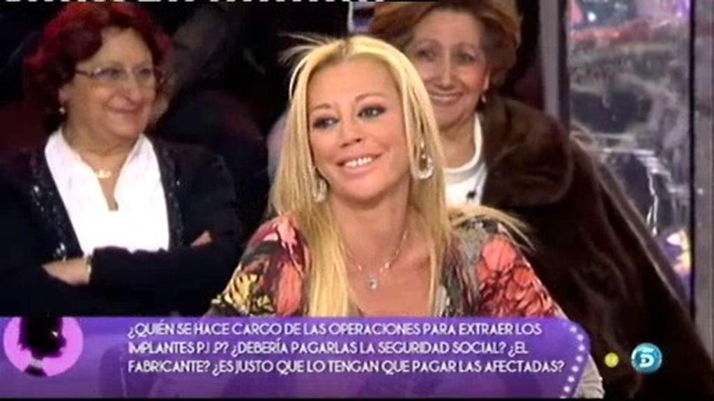 """Belén Esteban: """"No estoy asustada"""""""