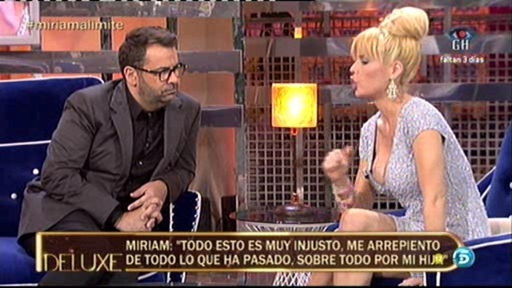"""Miriam Sánchez: """"Me arrepiento de lo que ha pasado por mi hija"""""""