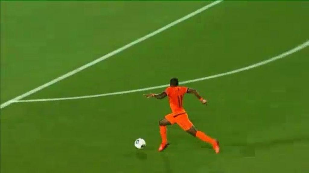 Gol: Holanda 3-1 Rusia (min.69)