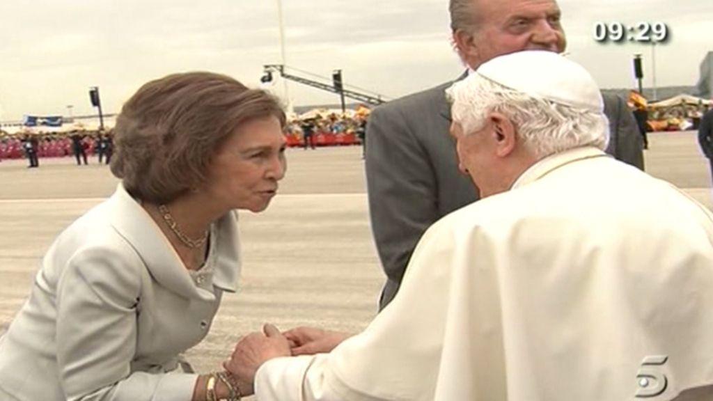 Crónica de la visita del Papa