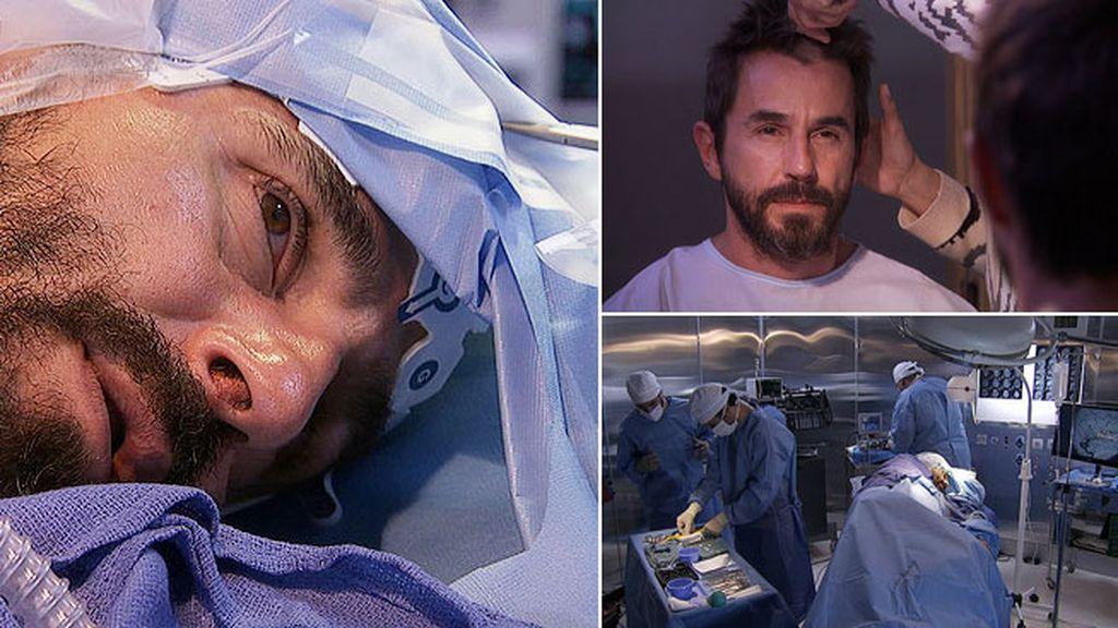 Pablo entra en quirófano