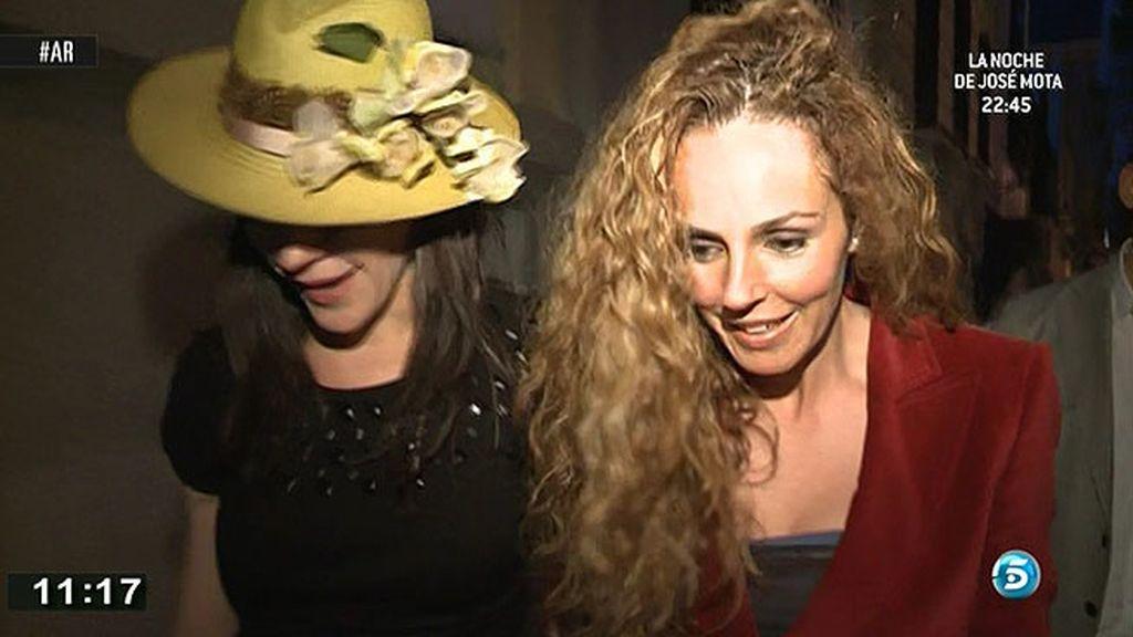 Rocío Carrasco no se pronuncia sobre la condena a Ortega Cano
