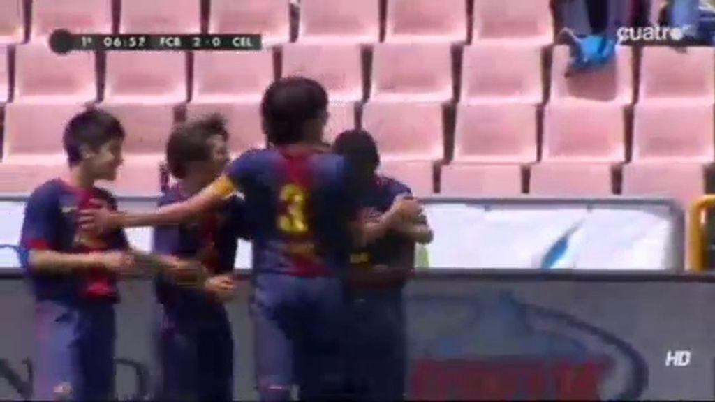 Gol: Barcelona 2-0 Celta (min.7)