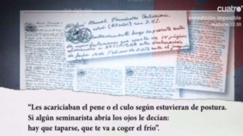 El ladrón del Códice dice haber presenciado sexo en la Catedral de Santiago