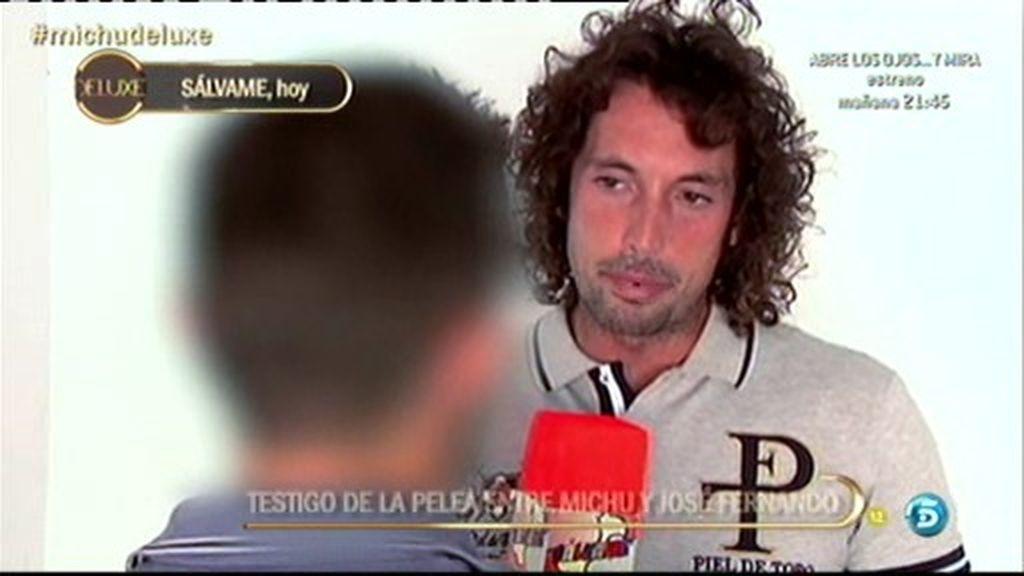 """Kiko Hernández, a Michu: """"El miércoles tuviste una discusión muy fuerte con él"""""""