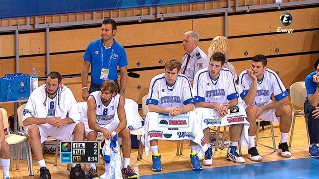 Italia suma su segunda victoria en el Eurobasket ante Turquía (90-75)