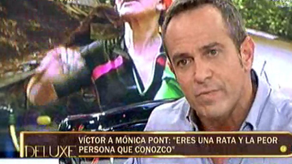 """Víctor Sandoval: """"¿Por qué ataco? Por la Pont, la persona más mala del mundo"""""""