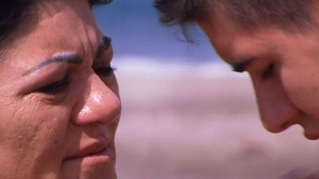 Yeray se reencuentra con su madre