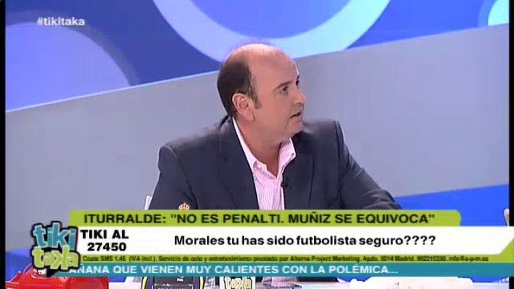 """Juanma: """"Es penalti clarísimo sobre Pepe"""""""