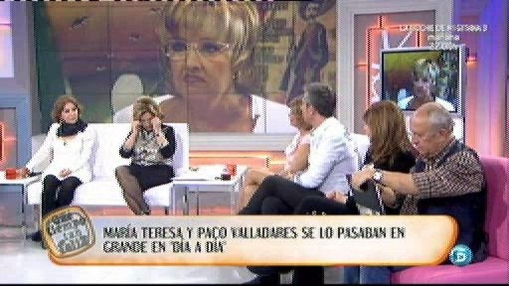 """María Teresa: """"Paco me dio una lección de vida"""""""
