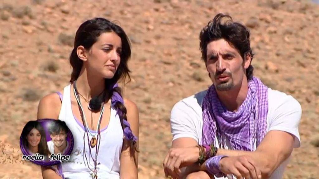 """Noelia, insegura: """"Felipe va a tener que tirar de mí"""""""