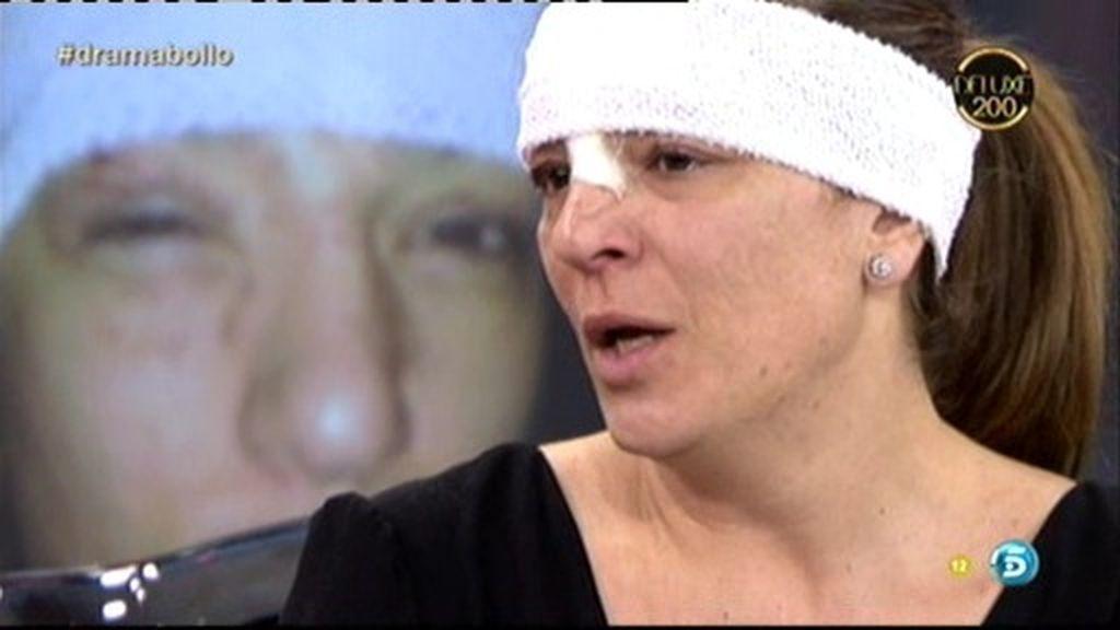 """Raquel Bollo: """"Si no hubiera cerrado los ojos, me hubiera quedado ciega"""""""