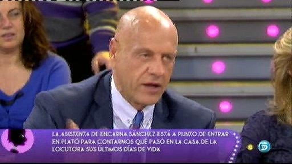 Según Marujita, Encarna Sánchez atacó con una tijera a Isabel Pantoja