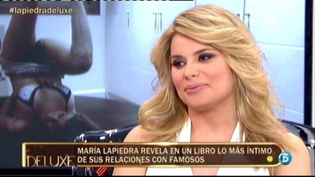 María Lapiedra revela los datos más íntimos de sus relaciones con los famosos