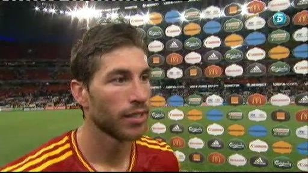 """Ramos: """"Tenía ganas de lanzar un penalti"""""""
