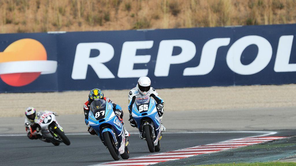 Carrera de Moto3 del CEV en Navarra