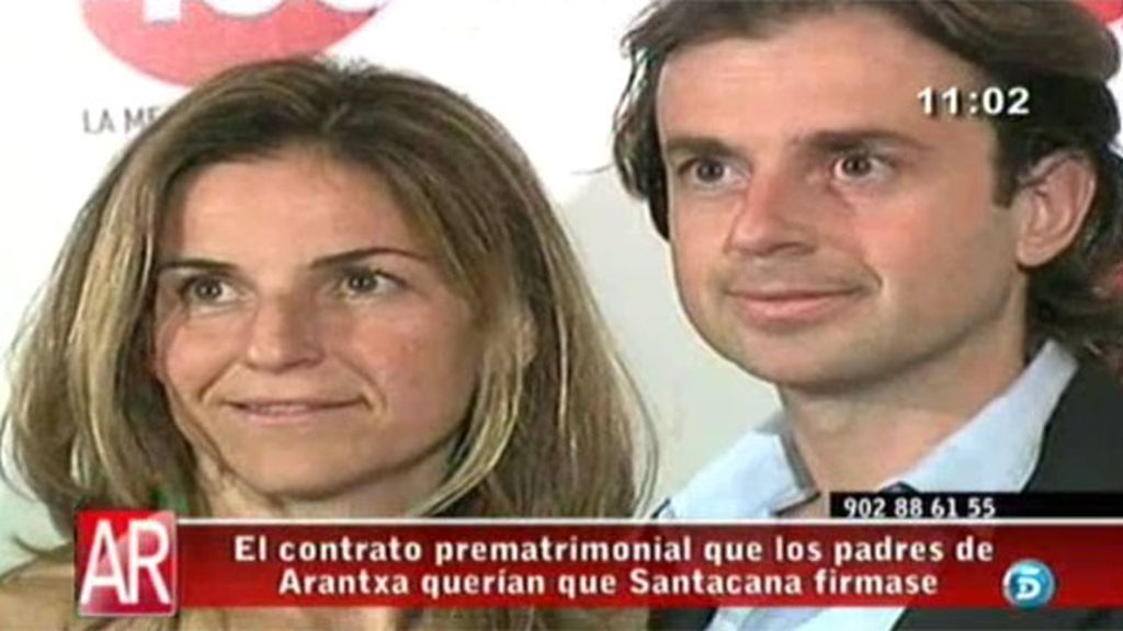 Pep Santacana se negó a firmar un acuerdo prematrimonial por el que renunciaba a la fortuna de Arantxa