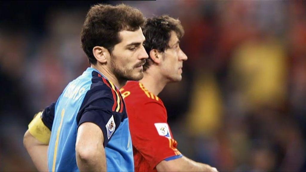 Tropezón de España en el inicio del Mundial de Sudáfrica