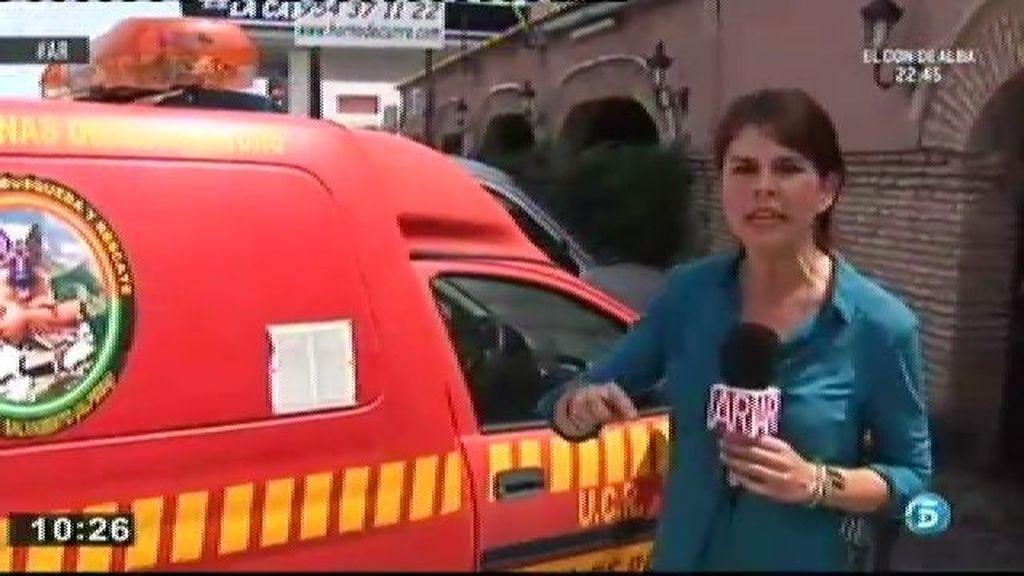 Una unidad canina busca el cuerpo de Marta del Castillo en La Rinconada