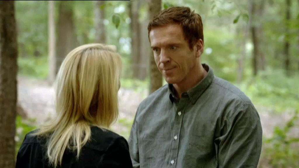 Carrie y Brody, nuevo momento a solas