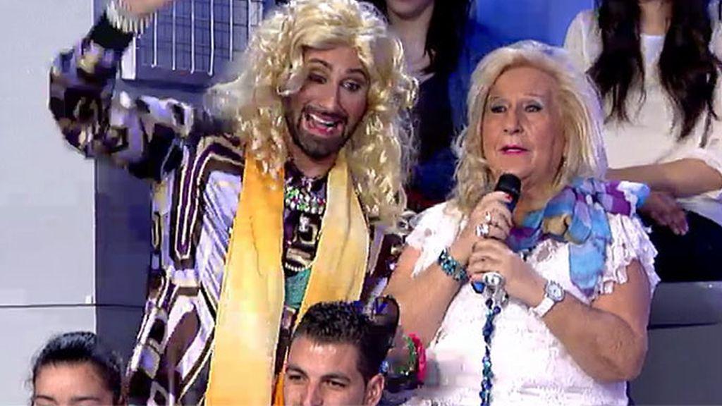 La nueva gancho del programa es... ¡Ana Ballena!