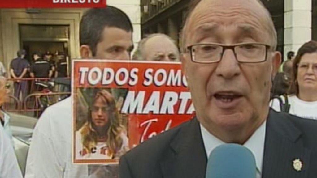 El abuelo de Marta del Castillo