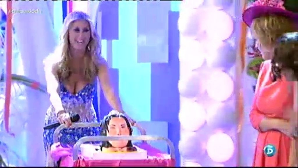 Malena Gracia trae la tarta