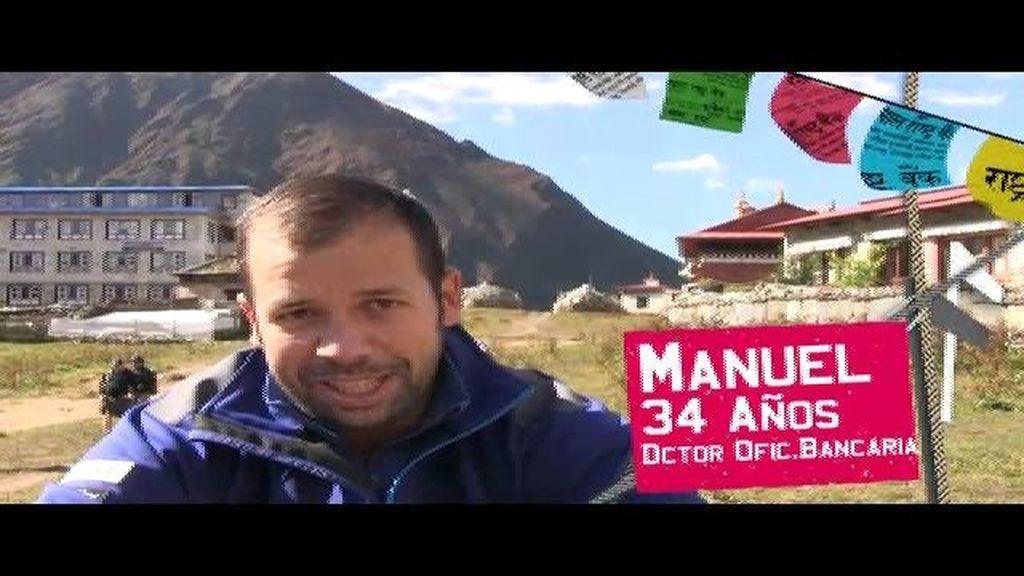 El director de una oficina bancaria, en Everest