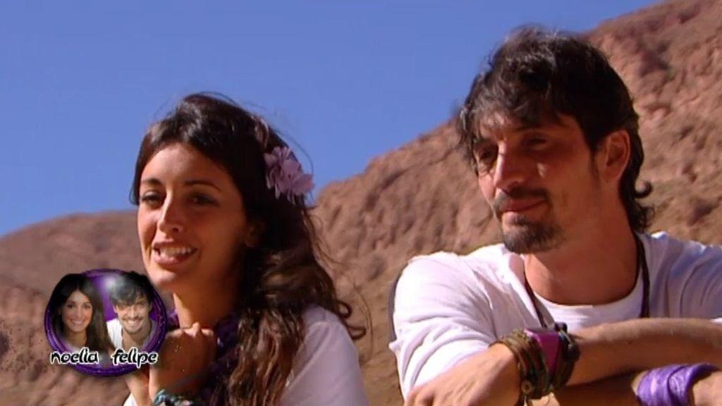 Felipe y Noelia concursan como pareja