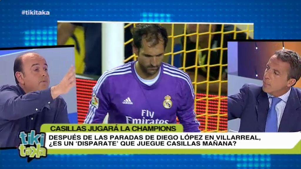"""Cristóbal Soria: """"Con Iker, el Real Madrid sí puede optar a la Champions"""""""