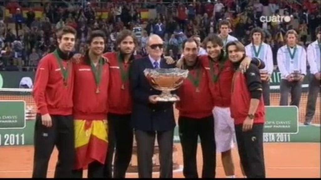 España se lleva la quinta Copa Davis