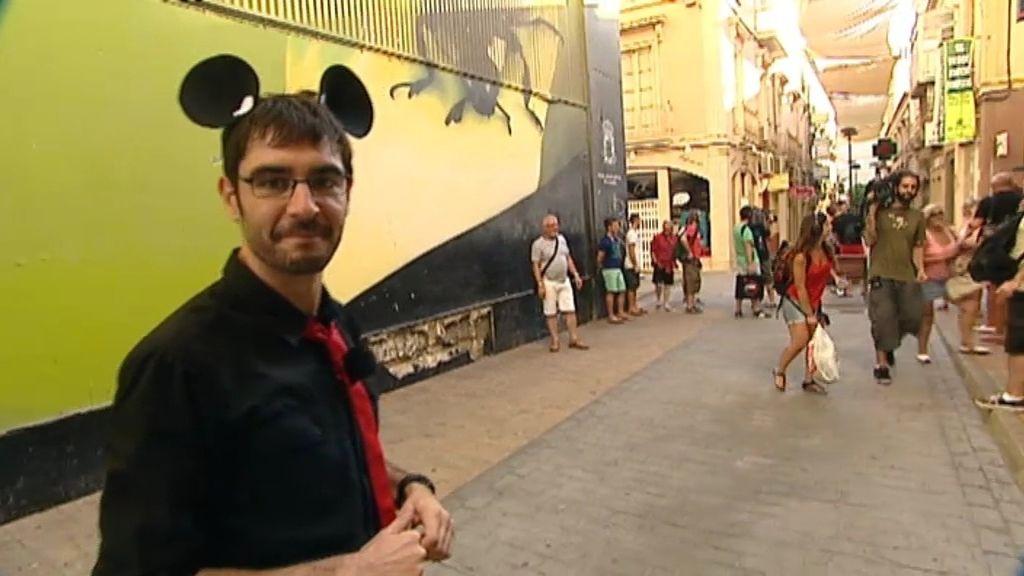 Juanra Bonet se convierte en Juanra Mouse por una promesa a Mario