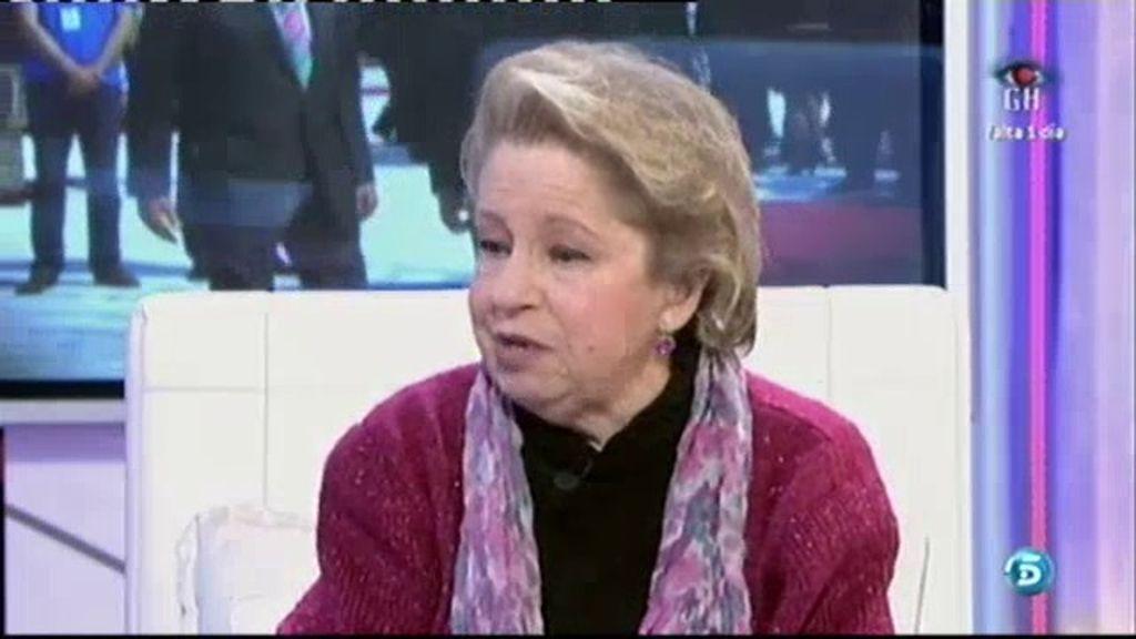 """Mª Antonia: """"La Monarquía tiene una salida que es el Príncipe"""""""