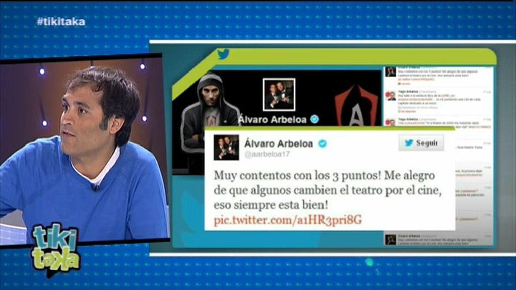 """David Sánchez: """"El 95% de los culés en la selección no tragan a Arbeloa"""""""