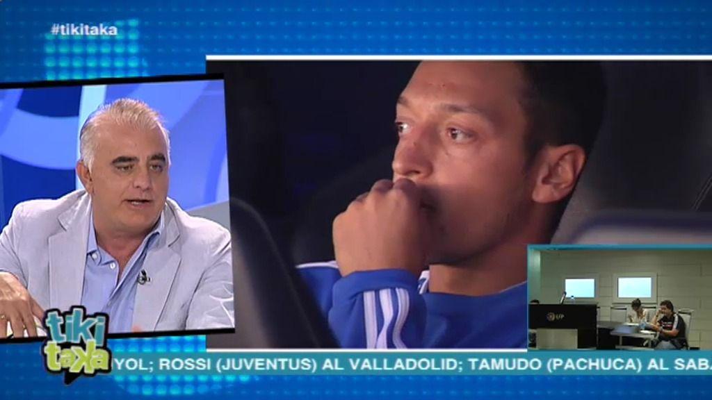 """Pedro P. San Martín: """"En tres meses nadie se acuerda de Özil en el Real Madrid"""""""