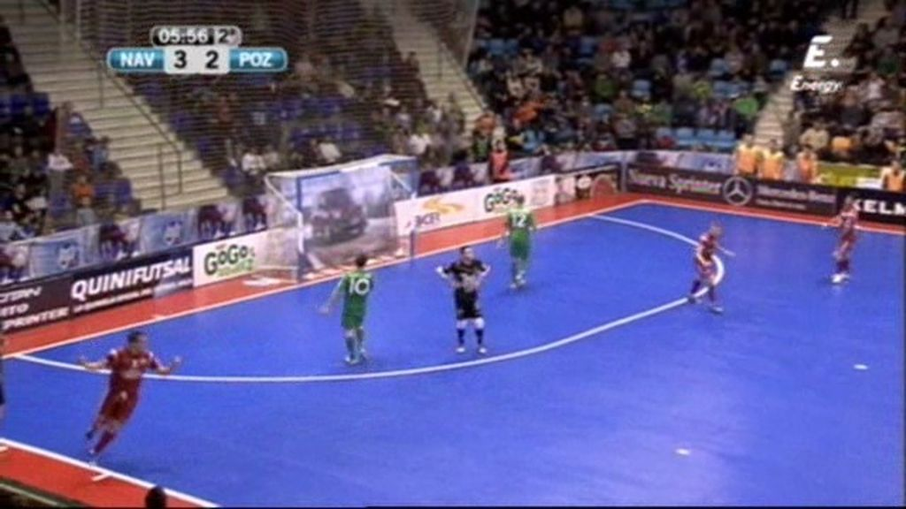 Gol de José Ruiz (Navarra 3-3 ElPozo)