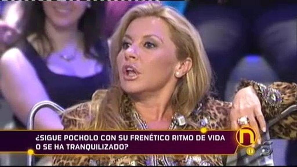 Pocholo, a Cristina Tárrega: