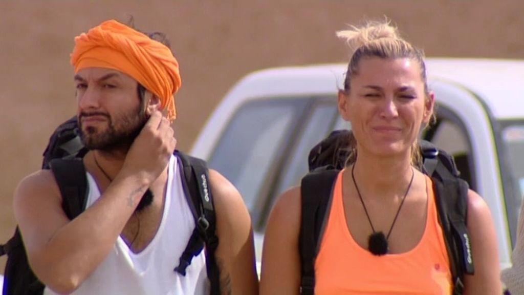 Rafael Amargo y Yolanda, castigados