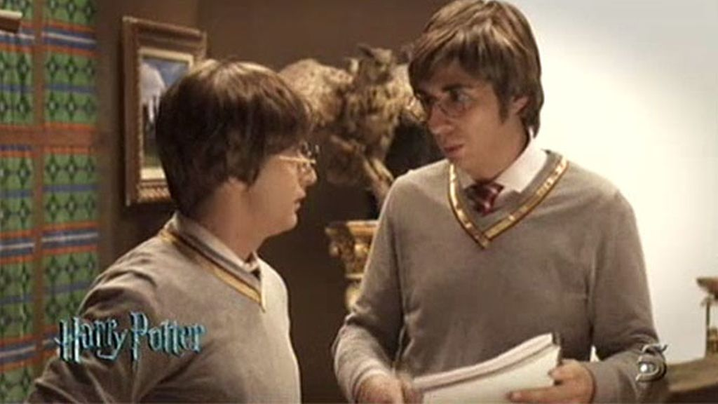 Harry Potter, con Berto Romero