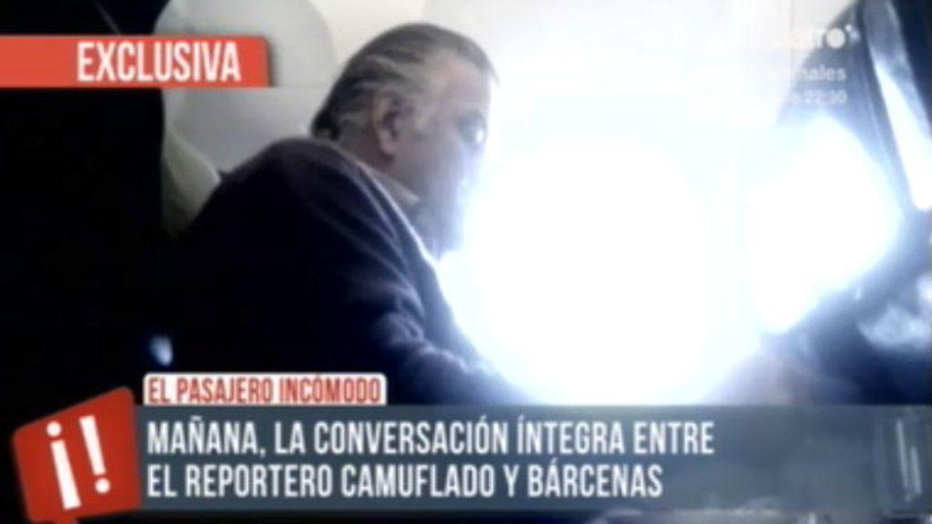 Un reportero camuflado de' Te vas a enterar' viaja con Bárcenas desde Londres a Madrid