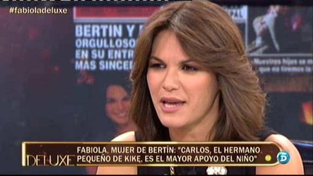 """Fabiola: """"Su hermano Carlos está siendo un pilar impresionante"""""""