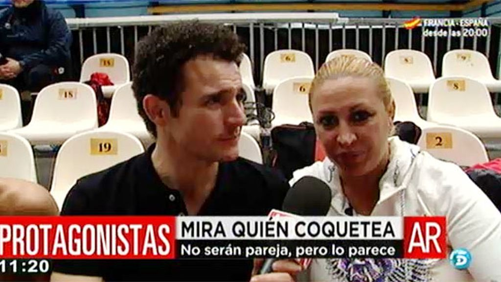"""Raquel Mosquera: """"Fortu me echa muchos piropos"""""""