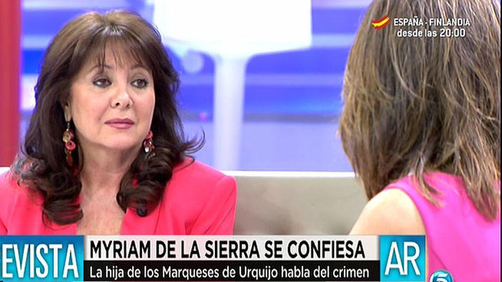 """Myriam de la Sierra: """"La última persona de la que sospechaba era de Rafi Escobedo"""""""