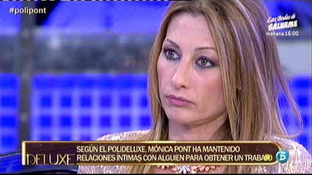 Mónica Pont ha mantenido relaciones sexuales para conseguir un trabajo