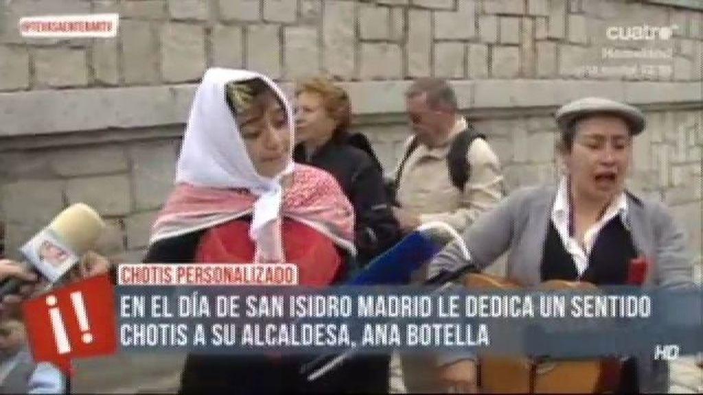 Un chotis dedicado a la alcaldesa de Madrid